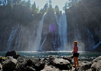 Burney Falls Lake Britton