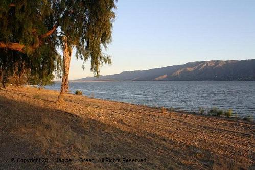 Kayaking lake Elsinore
