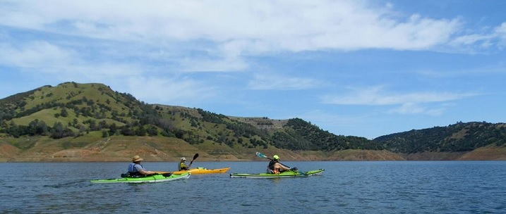 kayak fishing New Melones Lake