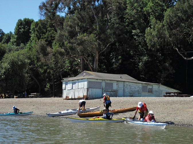 San Francisco Bay Kayaking california