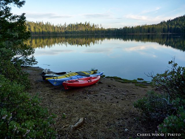 ayaking sugar pine reservoir