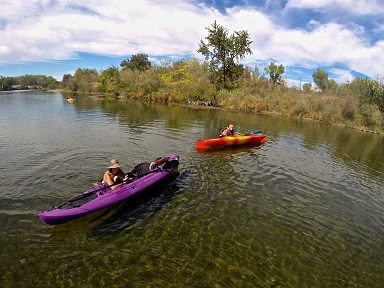 canoeing the feather river