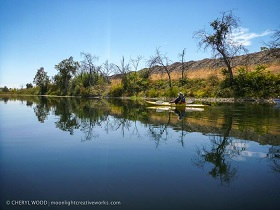 Kayaking the Feather River