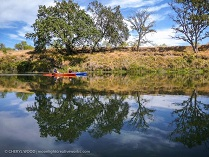 Kayaking lower Feather River