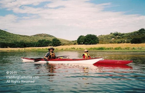 kayaking Lake Sutherland