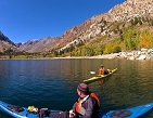 kayaking Lundy Lake