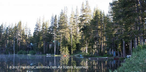 Serene Lakes Kayaking California