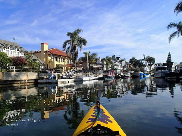 Kayaking In The Wintertime Southern California